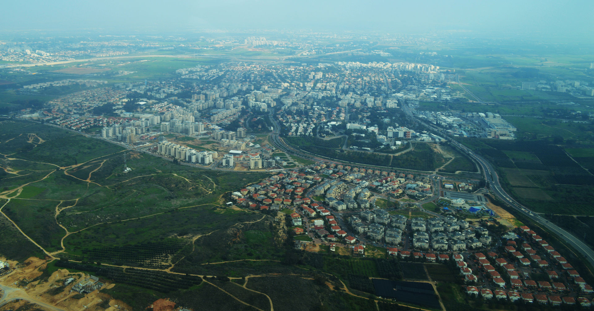 Ness Ziona Aerial_View