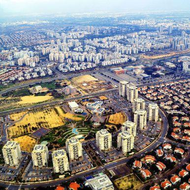 Rishon_LeZion_West_Aerial_View