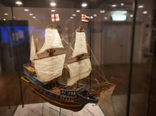 040618National Maritime Museum Haifa Golden Hind