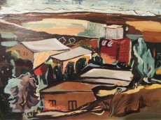 0010818 Roda Reilinger Wilfrid Museum Landscape Hazorea 1949 (80)