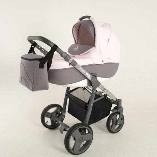 Детская коляска NoordLine Amelis 2 в 1 (розовый)