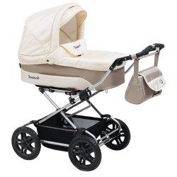 Детская коляска Reindeer Nova 2 в 1 (белый/бежевый)