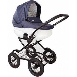 Детская коляска Tutis Zippy New Classic 2 в 1 (Синий/белый)