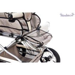 Детская коляска Reindeer Style Len 2 в 1 (серый)