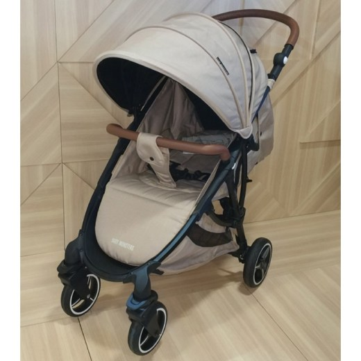 Детская коляска Baby Monsters Compact (бежевый)