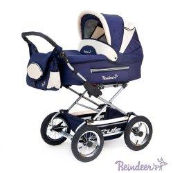 Детская коляска Reindeer Style 2 в 1 (темно-синий)