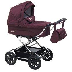 Детская коляска Reindeer City Nova 3 в 1 (Бордовый)