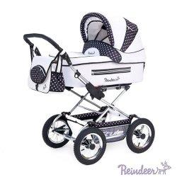 Детская коляска Reindeer Style 2 в 1 (синий/белый)