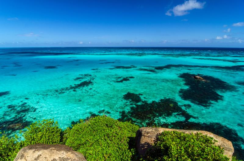 Un mar de siete colores en el Caribe  101 Lugares increbles