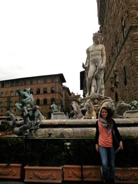 piazza della signora fuente de neptuno