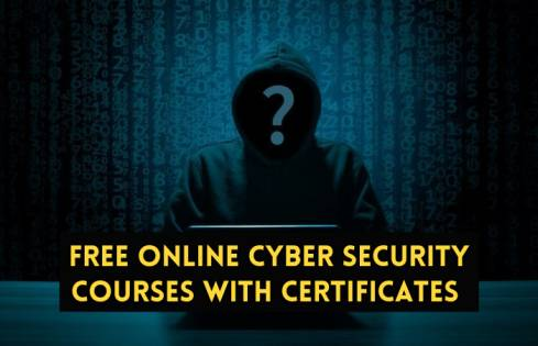 Free online cyber security courses with certificates