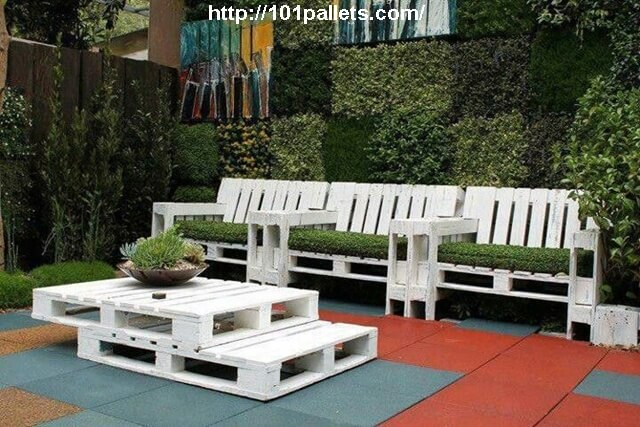 Great Recycled Pallet Work For Garden 101 Pallets