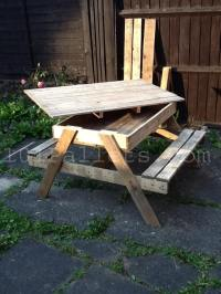 15 Unique Pallet Picnic Table