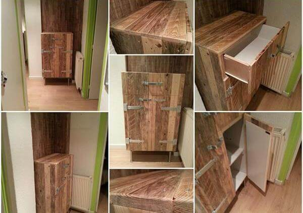 Kitchen Cabinets From Pallets cabinets made from old pallets | nrtradiant