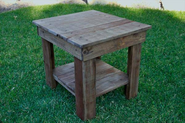Make your own rustic end table eoropeza1 for Make your own end table