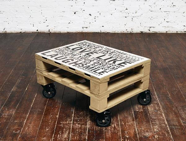 Recycled Pallet and Old Window Coffee Table  101 Pallets