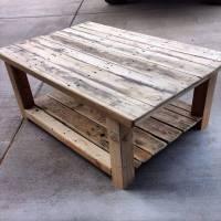 DIY Repurposed Pallet Wood Coffee Table | 101 Pallets