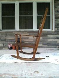 DIY Pallet Wood Rocking Chair | 101 Pallets