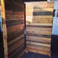 DIY Pallet Room Divider | 101 Pallets