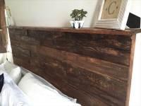 DIY Rustic Pallet Headboard | 101 Pallets
