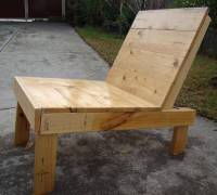 Recycled Pallet Outdoor Chair | 101 Pallets