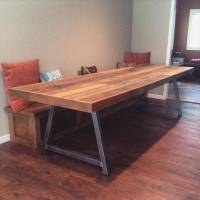 DIY Wood Pallet Conference Table   101 Pallets