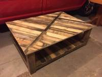DIY Recycled Pallet Coffee Table | 101 Pallets