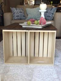 DIY Pallet and Crate Coffee Table | 101 Pallets