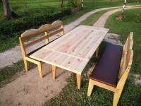 DIY Pallet Outdoor Dining Table | 101 Pallets
