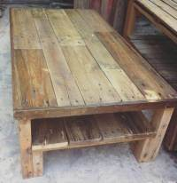 Large Wooden Pallet Coffee Table | 101 Pallets
