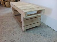 Old Pallet Wood Bench