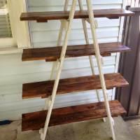 DIY Pallet A Frame Ladder Shelf | 101 Pallets