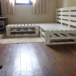 Corner Sofa For Small Rooms Extra Long Leather Uk Diy Pallet Frame | 101 Pallets
