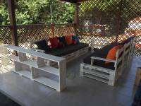 Pallet Patio Sofa Set / Porch Furniture