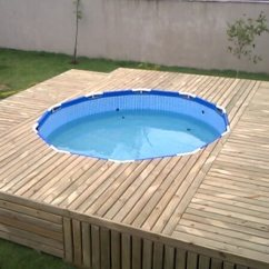 Intex Sofa Inflatable 2x2 Corner Pallet Outdoor Swimming Pool | 101 Pallets