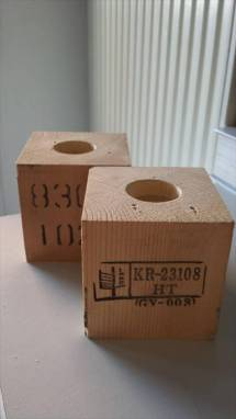 Wooden Pallet Candle Holders 101 Pallets
