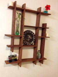 Pallets Wood Decorative Shelf Ideas | 101 Pallets