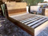 Recycled Pallets Bed | 101 Pallets