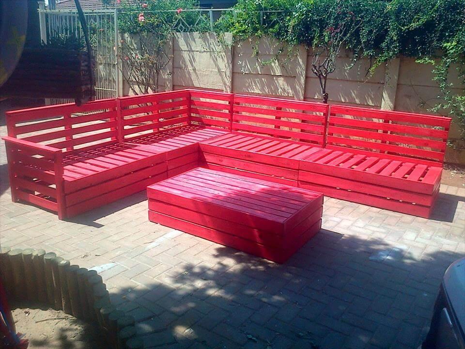 build outdoor sectional sofa standard cushion size superb pallet patio furniture set | 101 pallets