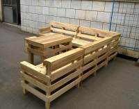 DIY Pallet Patio or Outdoor Furniture Set | 101 Pallets