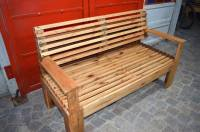 Wooden Bench Made of Pallets