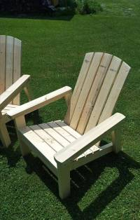 Upcycled Pallet Adirondack Chairs   101 Pallets