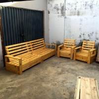 Repurposed Pallet Furniture Set | 101 Pallets