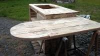 Pallet Kitchen Island and Breakfast Table | 101 Pallets