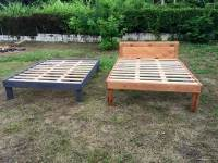 Queen Size Wooden Pallet Bed Frames | 101 Pallets