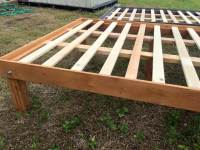 Queen Size Wooden Pallet Bed Frames | 101 Pallets
