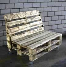 Rustic Pallet Bench Wheels 101 Pallets