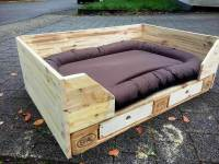 Wood Pallet Dog Bed   www.imgkid.com - The Image Kid Has It!
