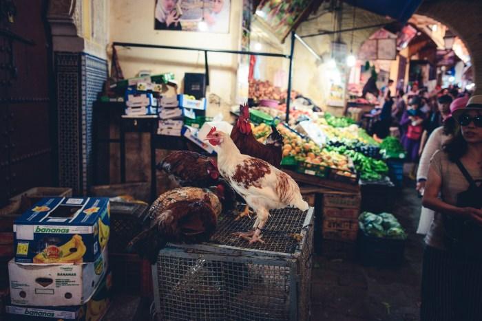 пазарът в Медината на Фес, Мароко