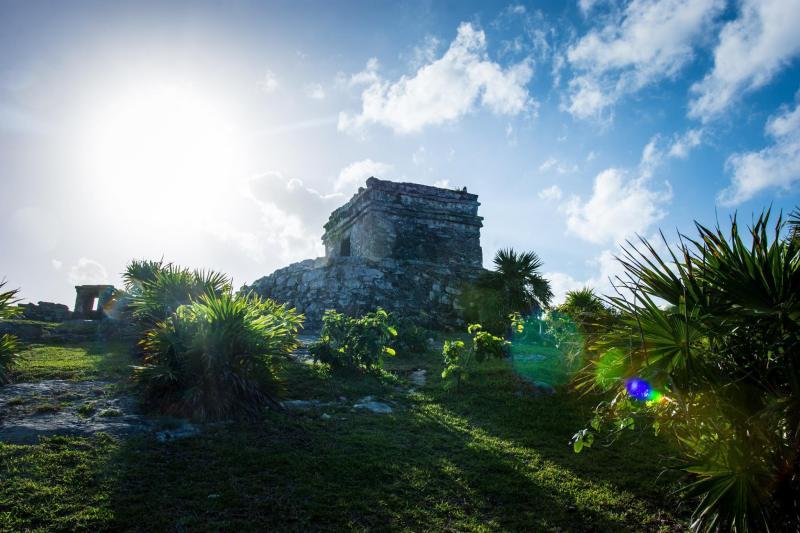 Храмов комплекс в Тулум, Мексико